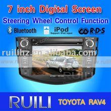 "8"" touch screen car radio TOYOTA RAV4 3D animation UI"