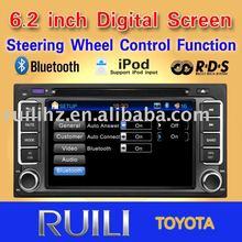 2011 hot sell TOYOTA OLD COROLLA car radio 3D Animation UI