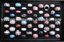 Fashion repoxy ring enamel jewelry