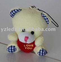 plush bear /animal keyring/bear toy
