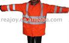 reflective safety rain wear