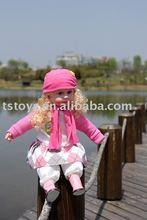 PVC plastic lovely music baby doll