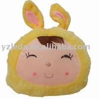 plush lovery cushion baby toy/warm hand holder