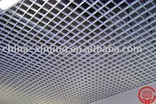 Indoor Building ventilative decorative hang grid ceiling tiles
