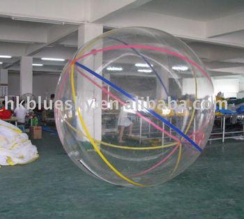 Three handles water ball
