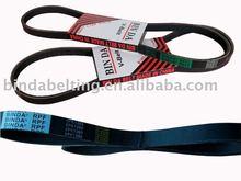 V-ribbed Belts for automobile/PK fan belts