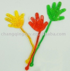 Small Sticky Hand,promotion YOYO sticky toys,soft hans,promotion toy