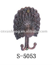 (S-5053)carton shape handcarft holdback hanger support