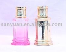 Classic perfume glass bottle