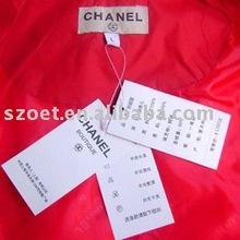Transparent plastic sheath with customized design