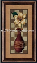 2011 flower painting on canvas