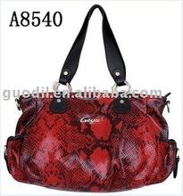 2012 NEW STYLISH snake leather handbag