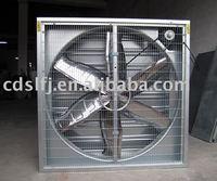 window mounted industrial exhaust fan (square shape)