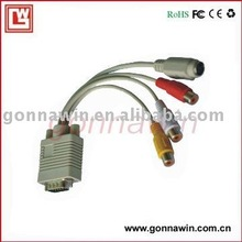 vga to svideo and 3rca cable