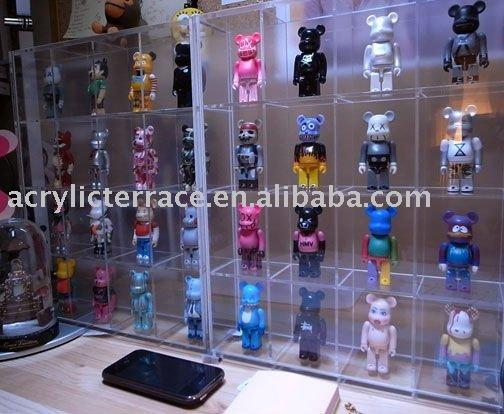 Acrylic Muji transparent display case