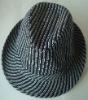 fashion men's woven fedora hat/short brim hat/jazz hat