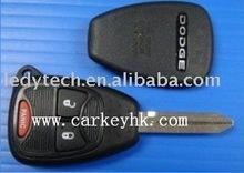 Dodge key, 2+1 buttons remote key,car key