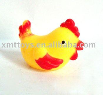 soft pvc chicken toy