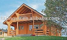 family living wooden house