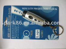 LED alarm projector clock logo projection clock