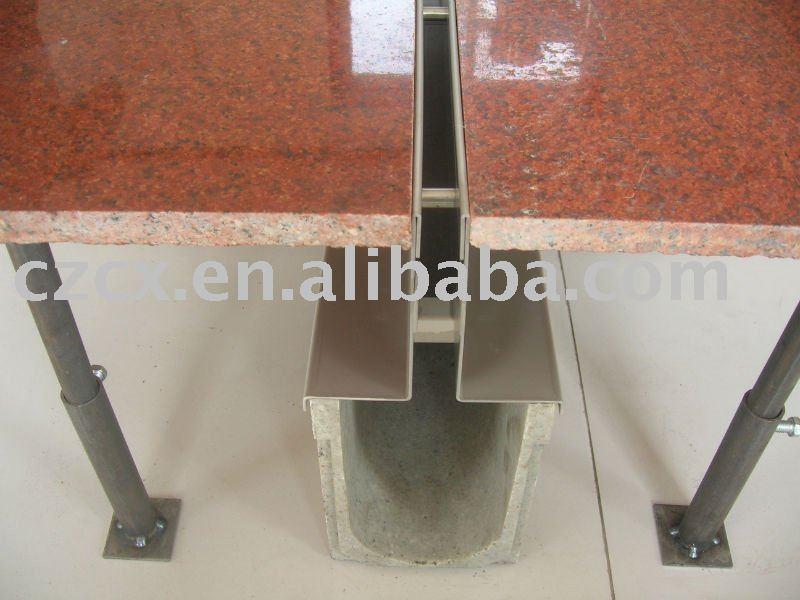canal road drainage slot drainage metal slot drain cover