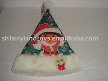 Plush Musical christmas hat
