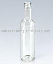 375ML clear glass beverage bottles