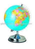 32cm English Spanish Arabic paper world globes