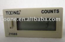 digital LCD display counter with 8 bits+6bits