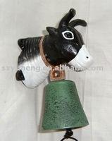cast iron cow door bell YH02078