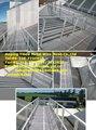 Alumínio acesso ao telhado e telhado passarelas
