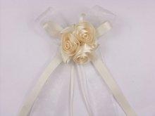 wedding car decoration ribbon bow without roses