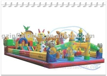 ~{Qi Ling} King of the forest inflatable theme park