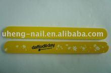 Nail file and buffer (yellow)