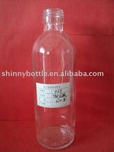 330ml glass round soda bottle