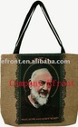 jacquard tapestry fabric tote fashion and tapestry bag cloth