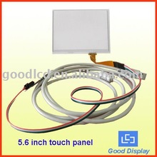 5.6 lcd touch screen especially for industrial grade lcd panel