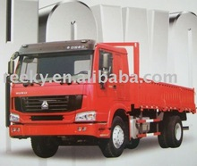 SONCAP Certificated and Top-quality and Excellent Working Capacity Howo 4x2 Cargo Truck with Excellent Van Baffle