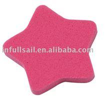 star shaped latex free sponge