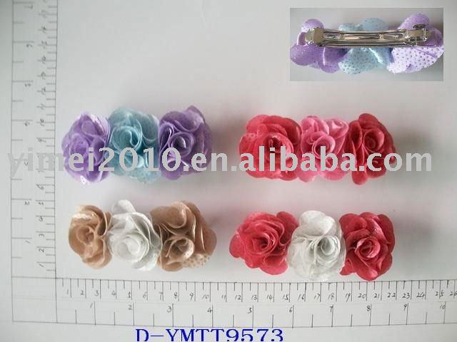 Flores para cabello tela - Imagui