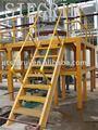 Frp escada para a plataforma na indústria