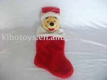 Winnie the Pooh christmas sock