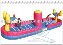 Qi Ling inflatable bungee basketball