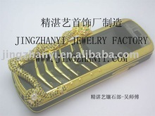 fashion mobile phones with metal craft