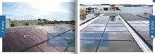 100 watts a-si thin film solar module, Thin film silicon solar energy yield per Wp