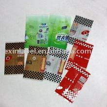 plastic PVC shrink wrap film labels for food bottles