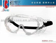 Anti-fog medical safety goggles