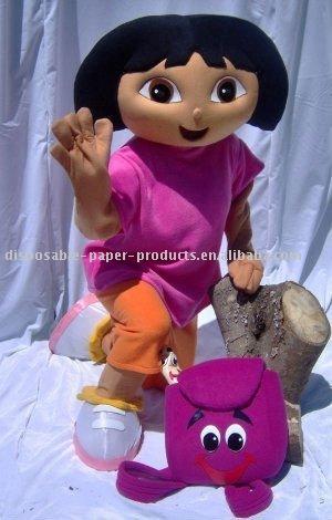 Dora traje de la mascota, dora la exploradora mascota, sin gastos de envío