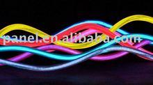 colorful el flashing wires