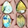 C013 Natural A quality Labradorite Cabochon stone